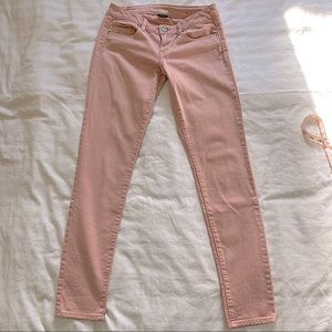 American Eagle stretch skinny jean in pink